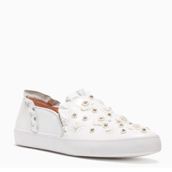 d6dc82ccc5f8 Kate Spade Louise Sneaker with Ruffles   Bling